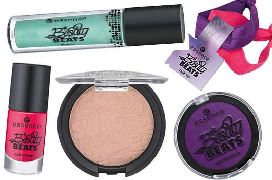 """essence trend edition """"beauty beats – girls on tour with Justin Bieber"""""""