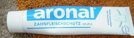 aronal Zahncreme Zahnfleischschutz mit Zink
