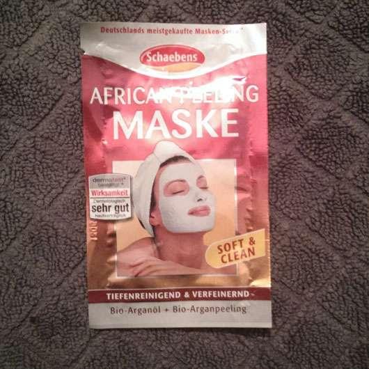 Schaebens African Peeling Maske