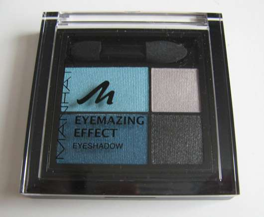 Manhattan Eyemazing Effect Eyeshadow Quattro, Farbe: 78K Pool Party