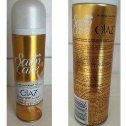 Produktbild zu Gillette Venus Satin Care Sensitive Rasiergel mit einem Hauch von Olaz
