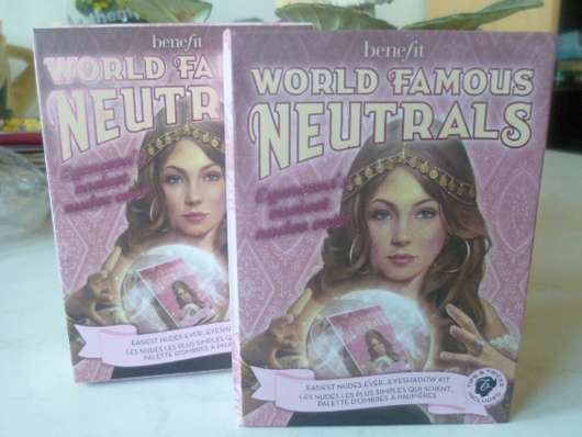 <strong>Benefit</strong> World Famous Neutrals - Easiest Nudes Ever Kit (Nude)