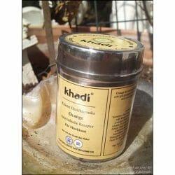 Produktbild zu Khadi Kräuter Gesichtsmaske Orange