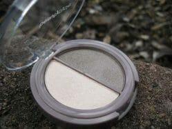 Produktbild zu beautycycle colour eye shadow duo – Farbe: iced mocha