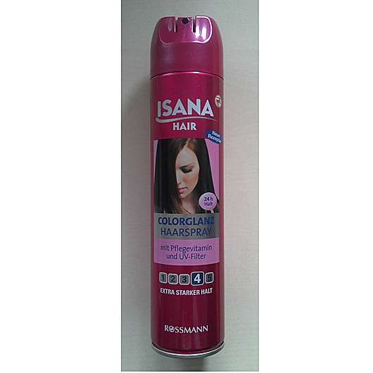 <strong>ISANA HAIR</strong> Colorglanz Haarspray