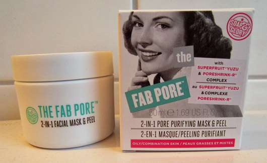 <strong>Soap & Glory</strong> The Fab Pore Peeling-Maske