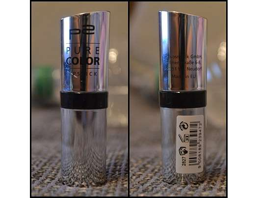 p2 cosmetics Pure Color Lipstick, Farbe: 042 Madison Square