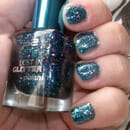 p2 lost in glitter polish, Farbe: 040 be cool!