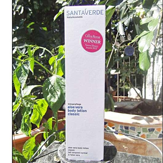 Santaverde aloe vera body lotion classic