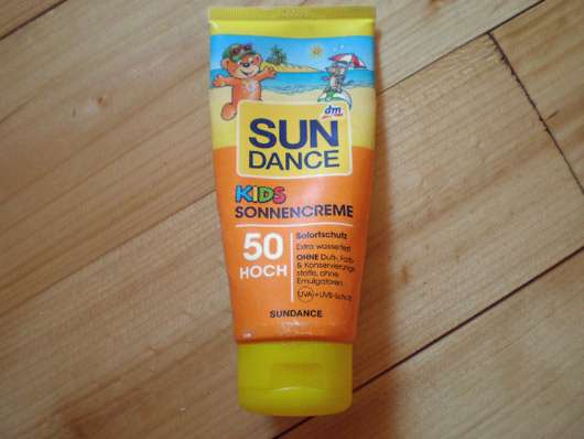 SUNDANCE Kids Sonnencreme LSF 50 Hoch