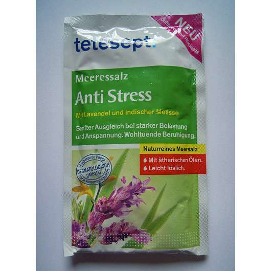 tetesept Meeressalz Anti Stress mit Lavendel & indischer Melisse