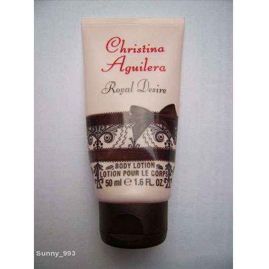 Christina Aguilera Royal Desire Body Lotion