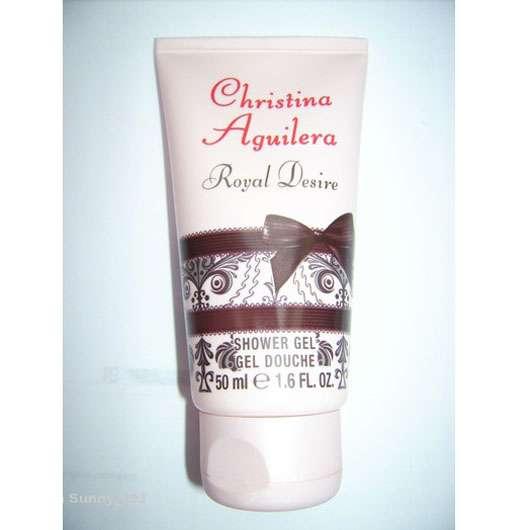 Christina Aguilera Royal Desire Shower Gel