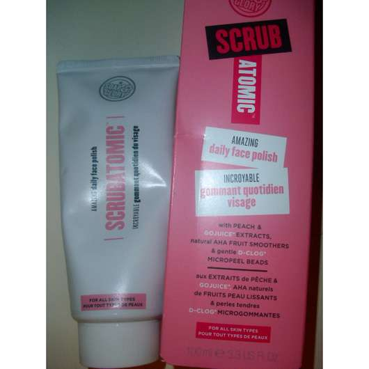 <strong>Soap & Glory</strong> Scrubatomic Amazing daily face polish