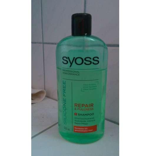 SYOSS Silicone Free Repair & Fullness Shampoo