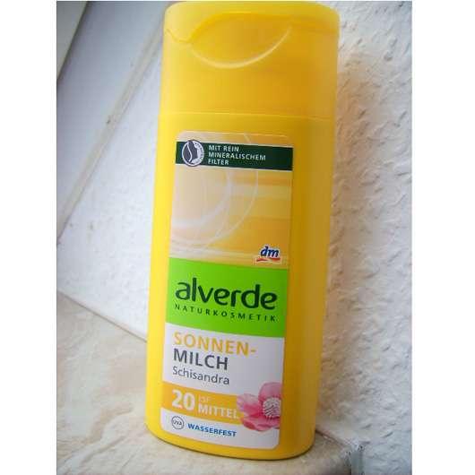 alverde Sonnenmilch Schisandra LSF 20
