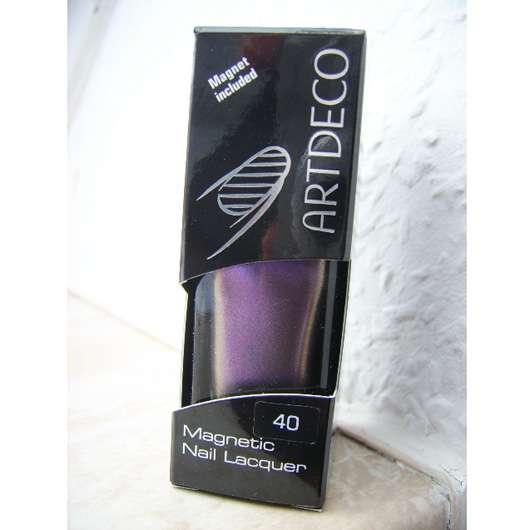 Artdeco Magnetic Nail Lacquer, Farbe: 40 Magnetic Purple