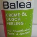 Balea Creme-Öl Duschpeeling mit himmlischem Apfel- und Zimtduft (LE)