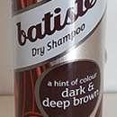 Batiste Trockenshampoo Dark - für dunkelbraunes Haar