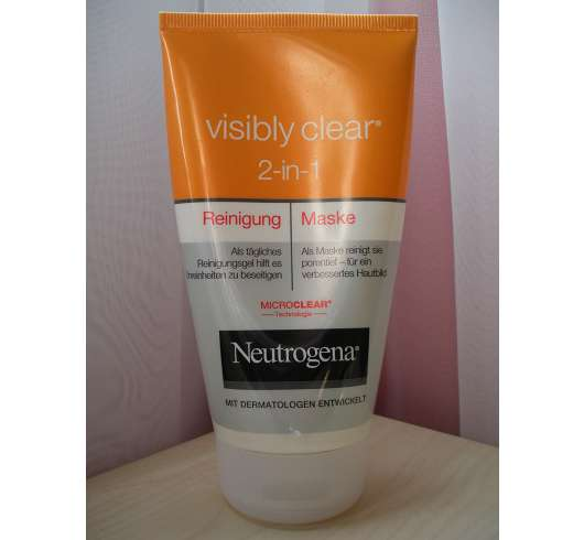 <strong>Neutrogena Visibly Clear</strong> 2-in-1 Reinigung & Maske