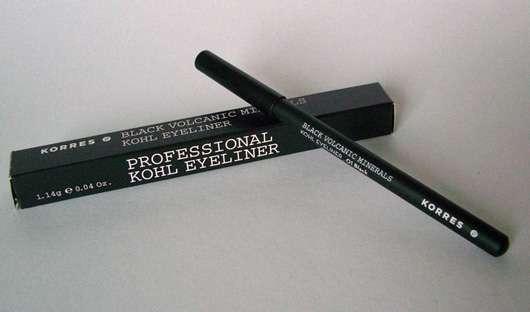 Korres Black Volcanic Minerals Professional Kohl Eyeliner, Farbe: 01 black