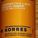 Korres Yoghurt Sonnenemulsion Körper & Gesicht SPF 30
