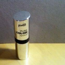 Produktbild zu p2 cosmetics pure color lipstick -Farbe: 100 Oxford Street
