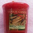 "Yankee Candle Duftkerze ""Sparkling Cinnamon"""