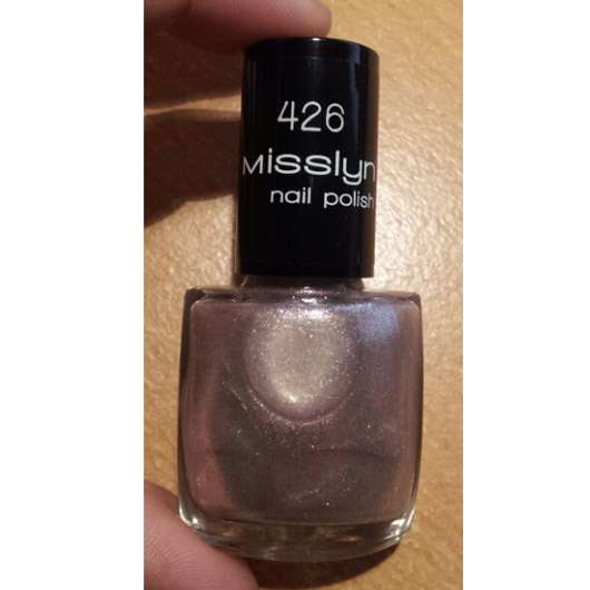 Misslyn nail polish, Farbe: 426 moon holiday