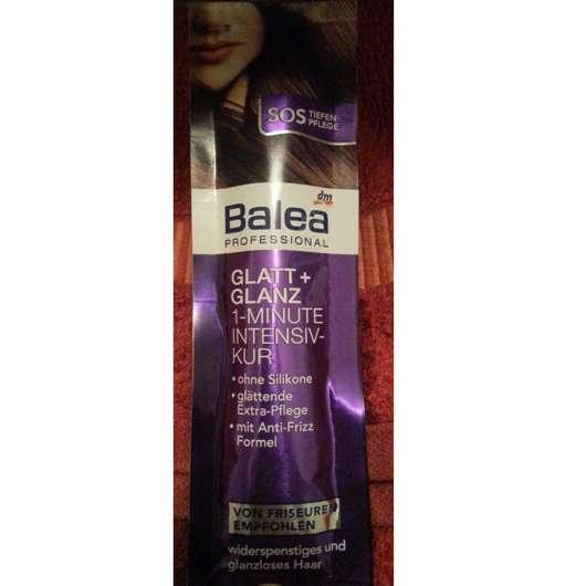 Balea Professional Glatt + Glanz 1-Minute Intensiv-Kur