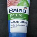 Balea nature Nachtcreme mit Bio-Brokkolisamen-Öl