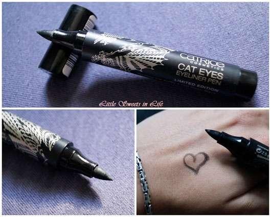 Catrice Thrilling Me Softly Cat Eyes Eyeliner Pen, Farbe: C01 Deep Black (LE)