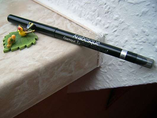 Arabesque Glamour Eyeliner Waterproof, Farbe: 96 Metallic Silber