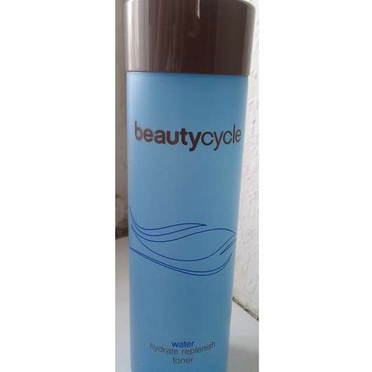 beautycycle water hydrate replenish toner