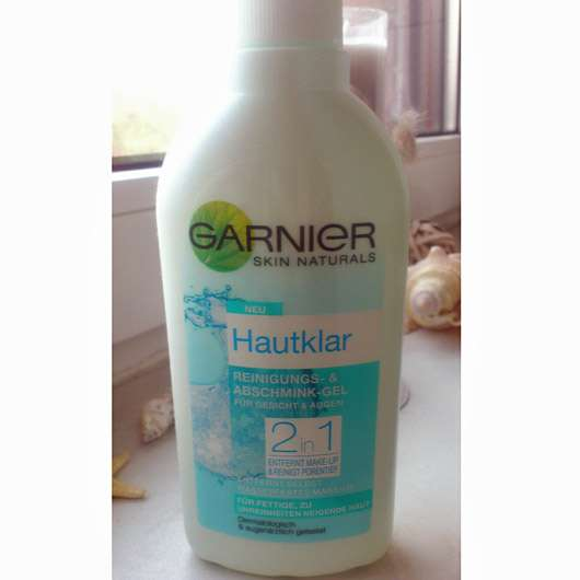 <strong>Garnier Skin Naturals</strong> Hautklar 2in1 Reinigungs- & Abschmink-Gel