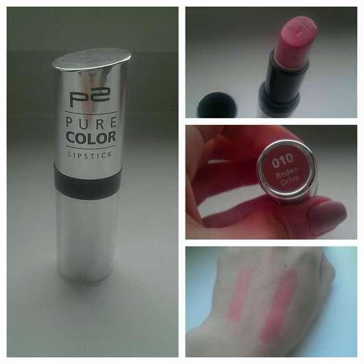p2 pure colour lipstick, Farbe: 010 Rodeo Drive