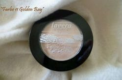 Produktbild zu lavera Basis sensitiv Beautiful Mineral Eyeshadow – Farbe: 11 Golden Bay (LE)