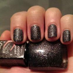 Produktbild zu Misslyn Velvet Diamond Nail Polish – Farbe: 12 Universe (LE)