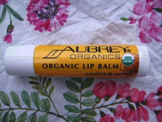 Aubrey Organics Organic Lip Balm Vanilla & Honey