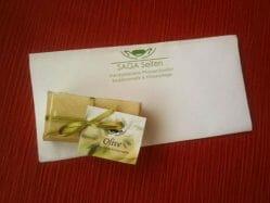 Produktbild zu SAGA Seifen Olive