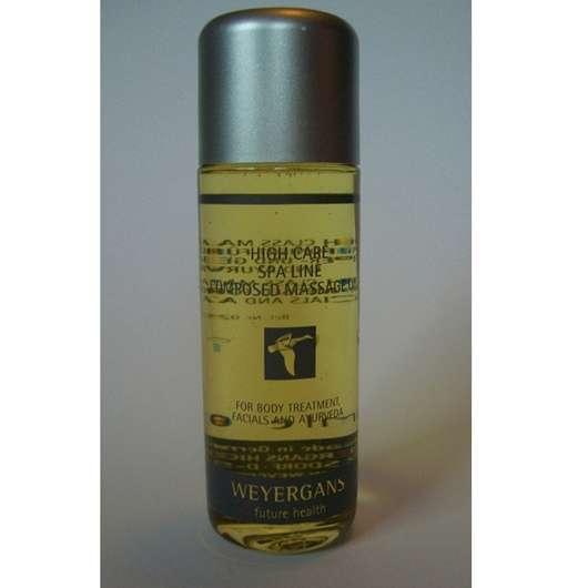 Weyergans Composed Massage Oil