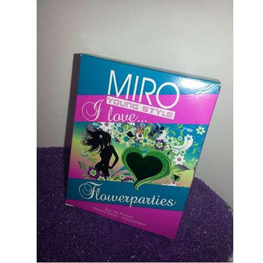 MIRO YoungStyle I Love… Flowerparties Eau de Parfum