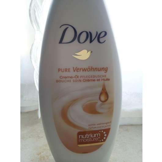 Dove Pure Verwöhnung Creme-Öl Pflegedusche Jasmin- und Honigduft