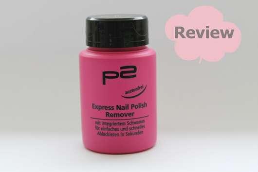 <strong>p2 cosmetics</strong> Express Nail Polish Remover
