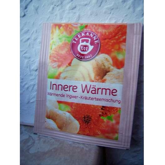 Teekanne Innere Wärme (Wärmende Ingwer-Kräuterteemischung)