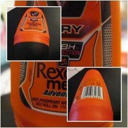 Produktbild zu Rexona Men Adventure Anti-Transpirant Deo Roll-On