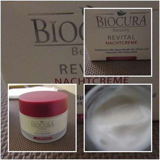 <strong>Biocura Beauty</strong> Revital Nachtpflege