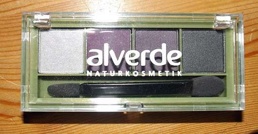 alverde Quattro Lidschatten, Farbe: 48 Mauve Sensation