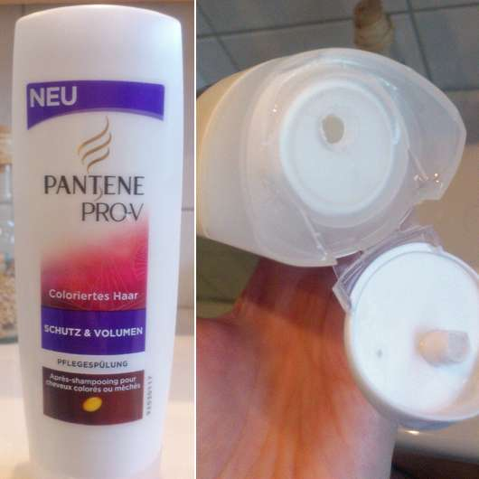 Pantene Pro-V Schutz & Volumen Pflegespülung (coloriertes Haar)