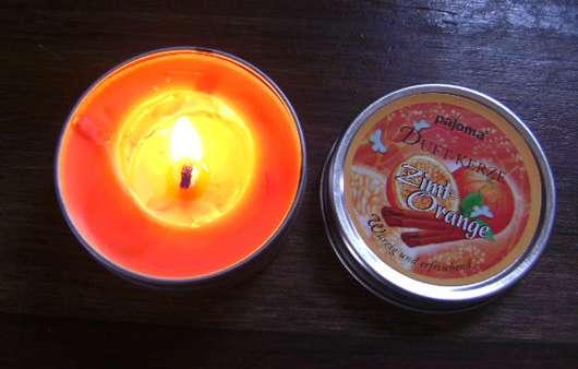 Pajoma Duft-Kerze Zimt-Orange